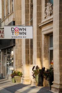 Downtown Winnipeg Biz entryway