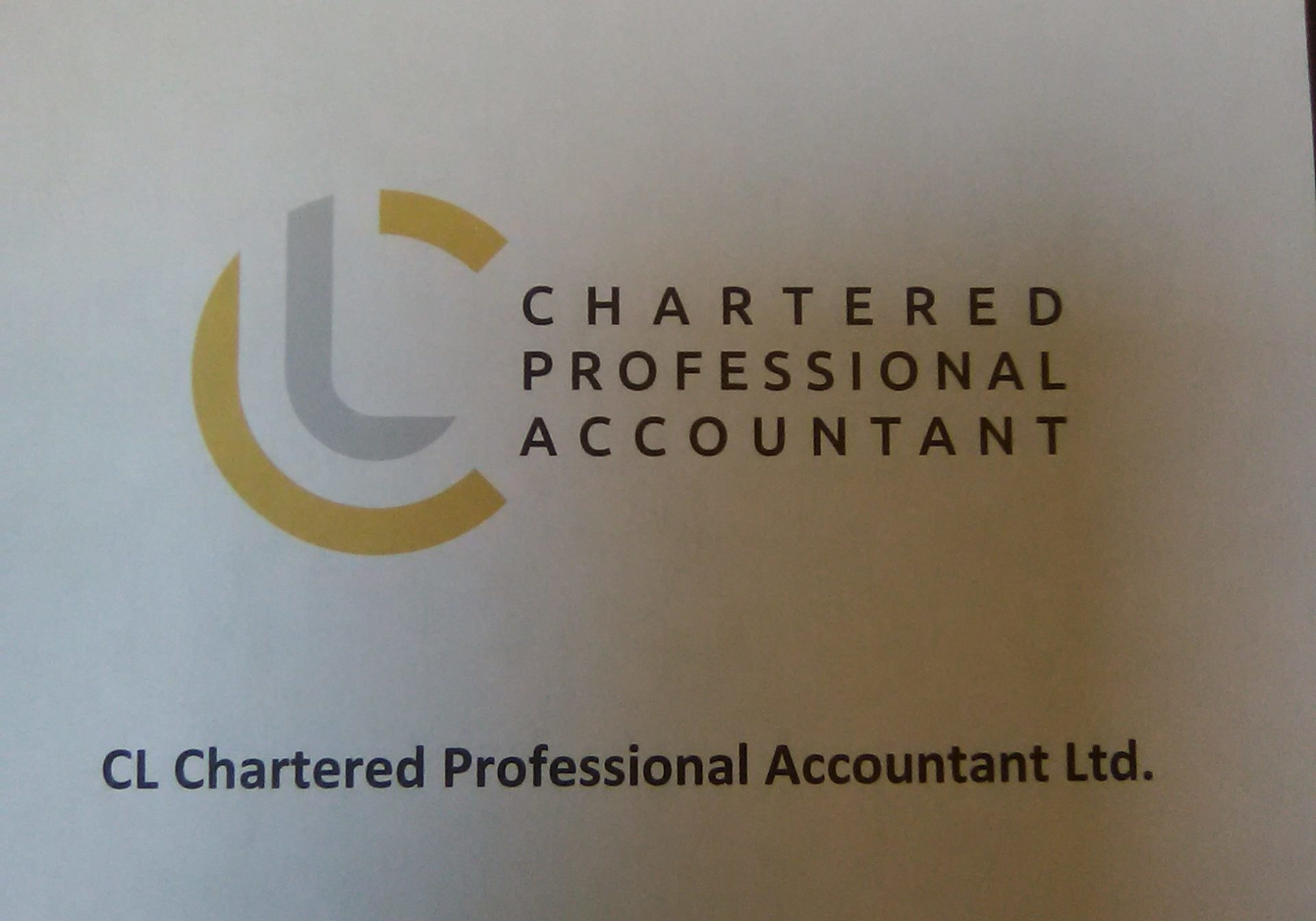 CL Chartered Professional Accountant Ltb