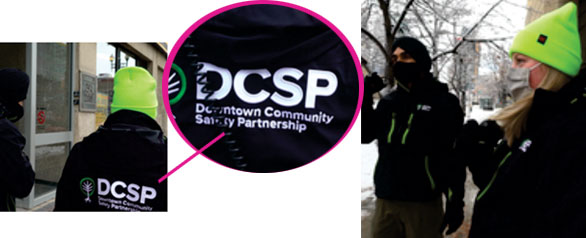 Safety and Outreach team DCSP CONNECT hits the streets with a new look