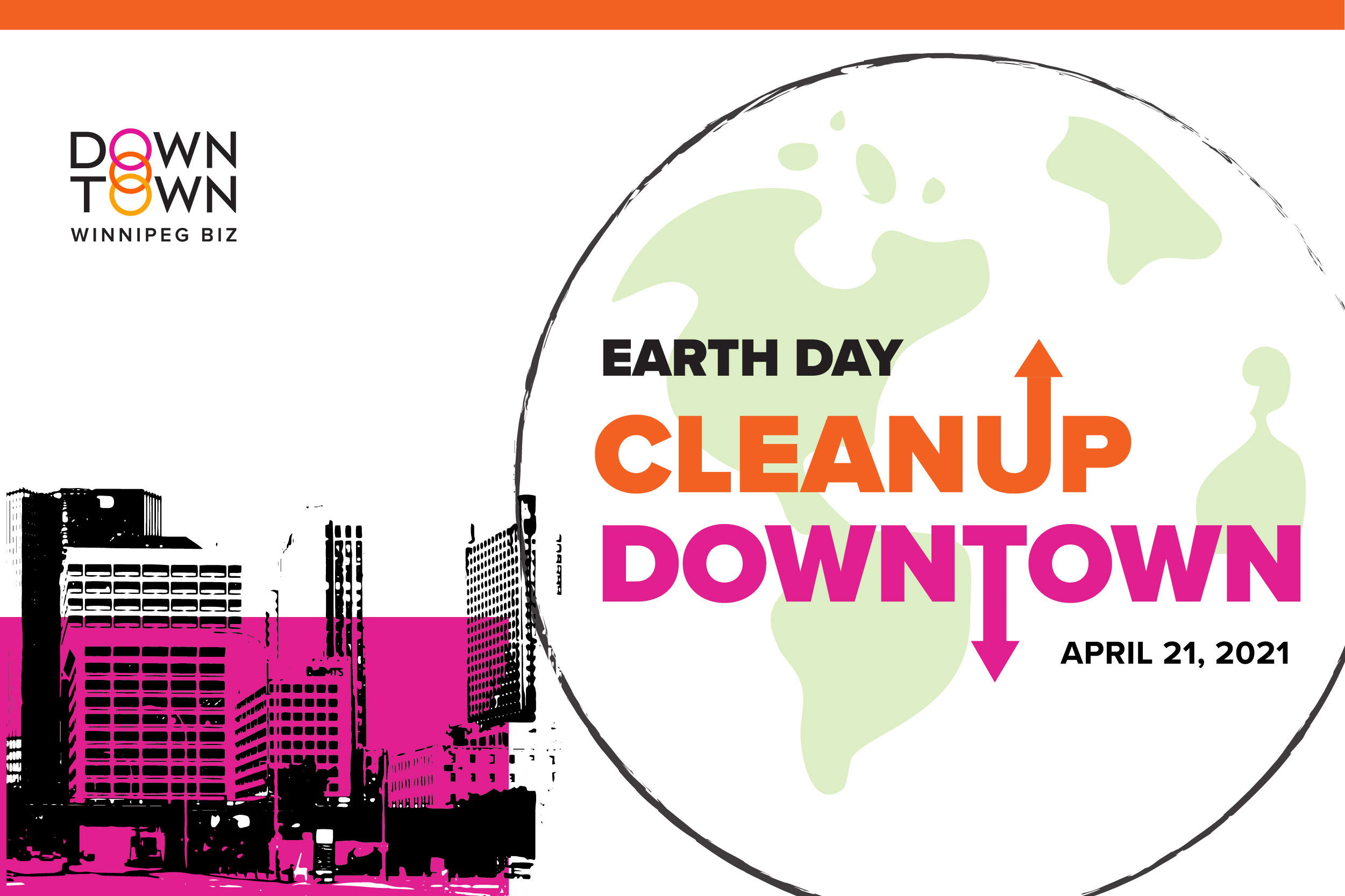 Earth Day CleanUp Downtown