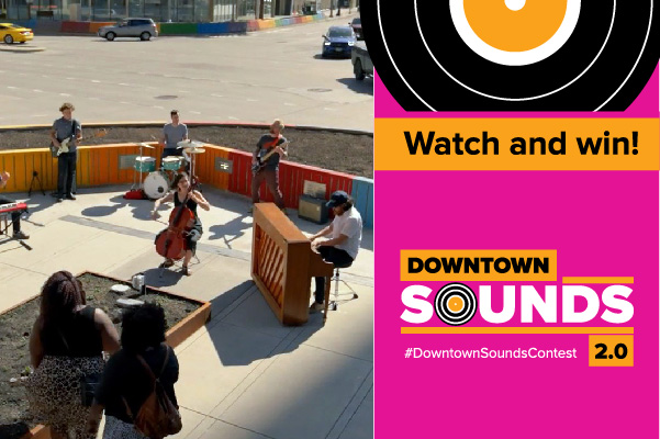 Watch & win with Downtown Sounds v2.0!